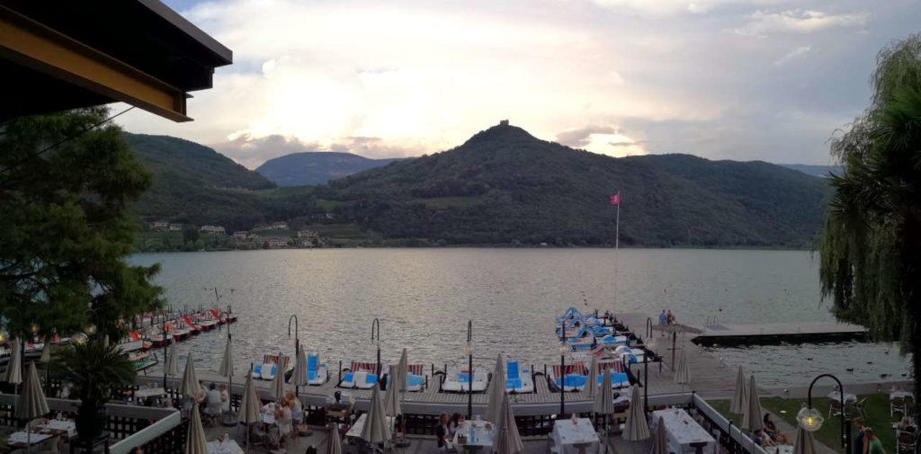 Blick auf Kalterer See