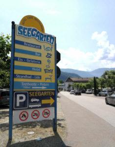 Parkplatz am Kalterer See